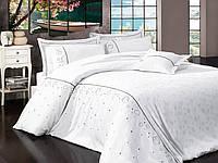 Комплект постельного белья vip сатин first choice евро размер diana beyaz