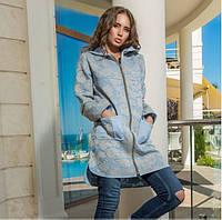 Молодежная женская куртка весна осень на молнии