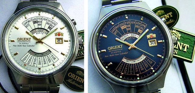 Механические наручные часы Orient Automatic Multiyear- 6 вариантов ... 1034e548ff3