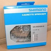 Кассета: Shimano cs-hg 400-9  11-28t (9 speed), фото 1