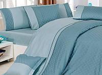 Комплект постельного белья vip сатин first choice евро размер prestige
