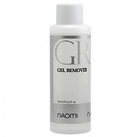 Жидкость для удаления гель-лака Gel Remover Naomi 100ml