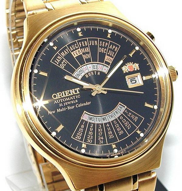 Механические наручные часы Orient Automatic Multiyear- 2 варианта ... 4e09cf9f566