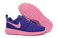 Женские беговые кроссовки Nike Roshe Run II Lite Pink Purple