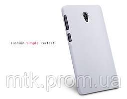 Чехол-бампер и плёнка NILLKIN для телефона Lenovo S860 белый