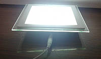 Светильник светодиодный Feron AL2111 12W ( со стеклом) встраиваемый