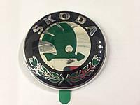 Оригинальная эмблема Skoda 90mm