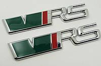 Эмблема надпись багажника Skoda VRS