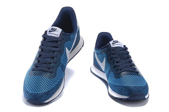 Кроссовки Nike Internationalist HPR Blue Оригинал