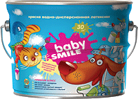 Краска SI-24  Baby Smile Latex (2000цикл)