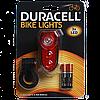 Велосипедный задний LED - фонарь Duracell - 3 светодиода