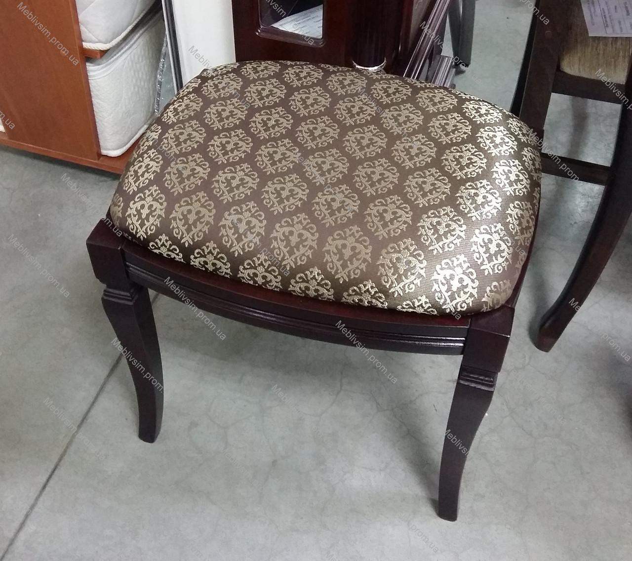 Банкетка прямоугольная  Микс мебель, цвет темный орех / махонь