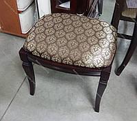Банкетка прямоугольная для спальни и прихожей Микс мебель, цвет темный орех / махонь