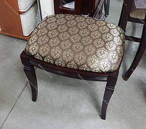 Банкетка прямоугольная  Микс мебель, цвет темный орех / махонь, фото 2