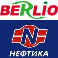 Дизельное топливо в сети АЗС Нефтика в России по карте Berlio