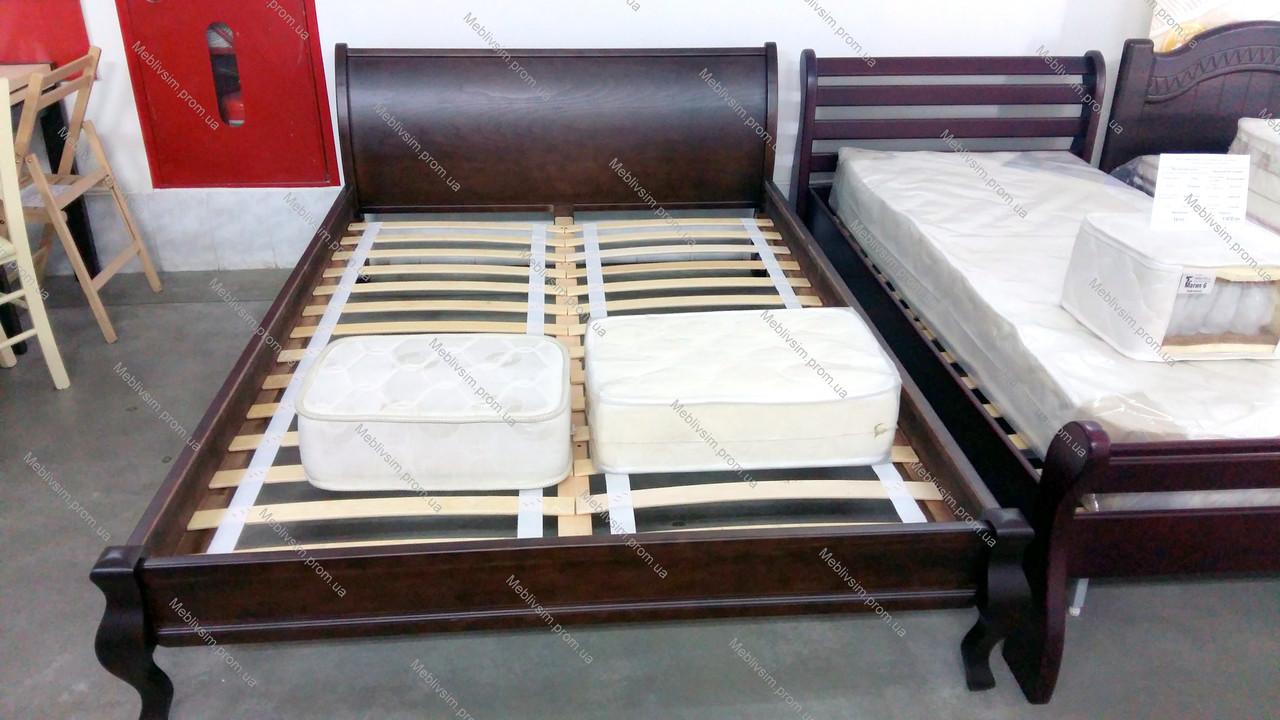 Кровать  двуспальная Парус , цвет на выбор