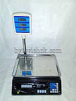 Торговые весы со стойкой Matrix до 50 кг (с чехлом) Новинка, фото 1