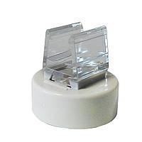 Пластиковые ценникодержатели на круглой подставке на магните