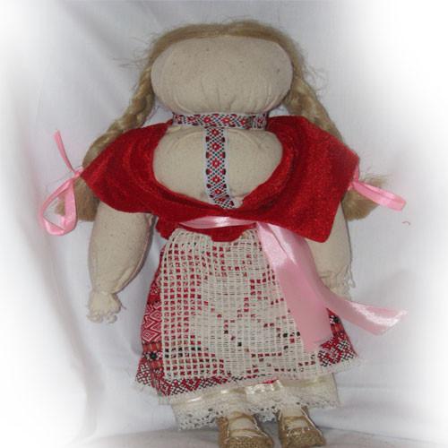 Мотанка-оберег для незамужней девушки, 180/210 (цена за 1шт. +30 грн)