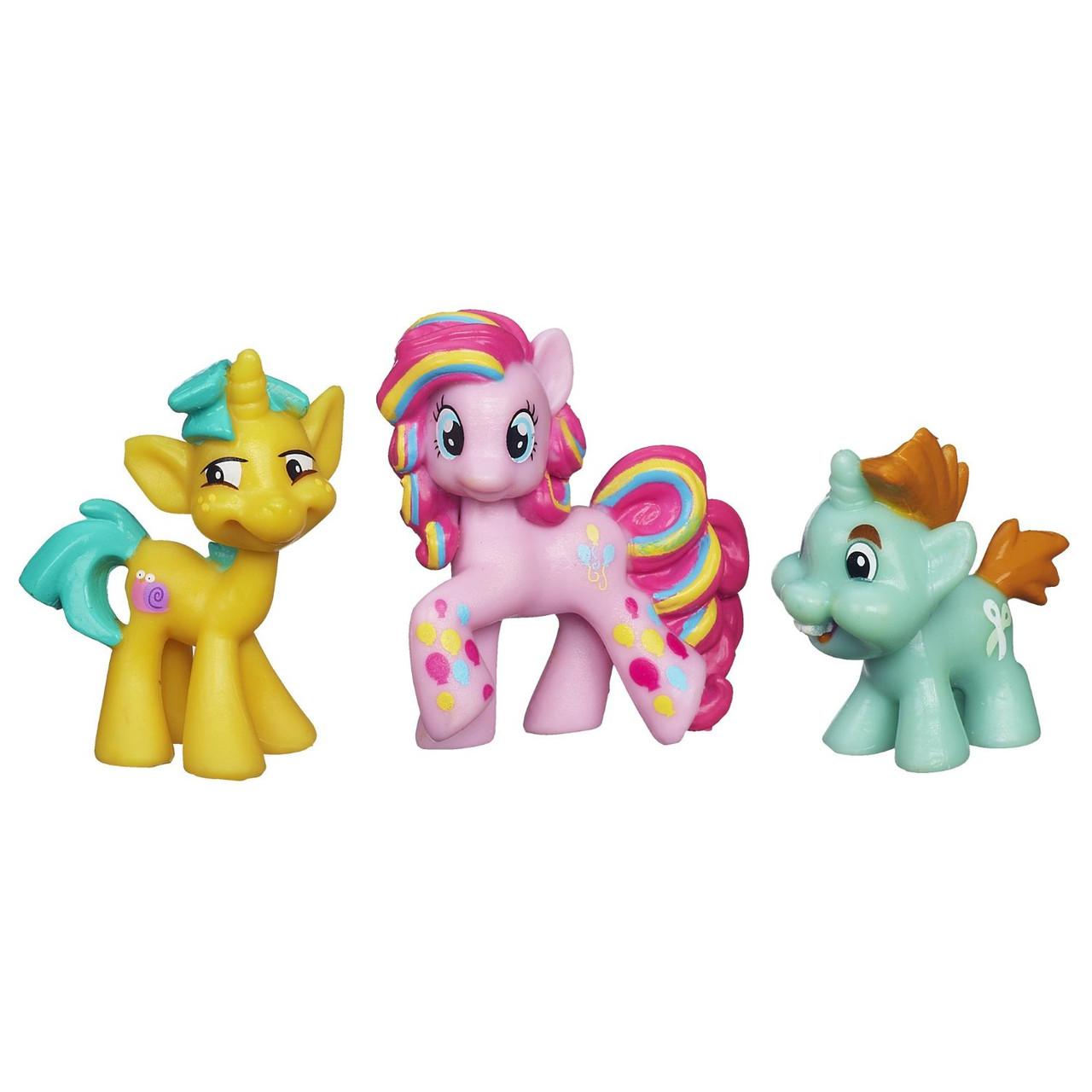 Hasbro My Little Pony Мини-коллекция Пинки Пай, Снипси Снап и Снейлс