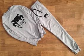 Мужской Спортивный костюм серый Venum