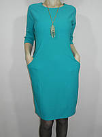 Платье с карманами и подвеской мята Exclusive 0138 р. L, XL