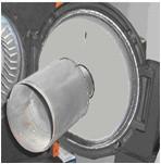 Дожигатели металлические для горелок : KG/UB20P; KG/UB20; KG/UB50 ZVP 140