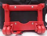 Рюкзак на колесах  для детей школьного  возраста , съемный троллей   размер 42Х30Х15, фото 3