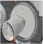 Дожигатели металлические для горелок : KG/UB70; KG/UB100, ZVP 160