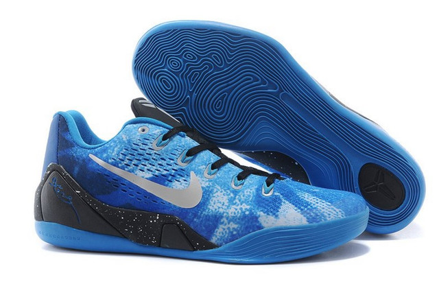 Кроссовки баскетбольные мужские Nike Zoom Kobe 9 Blue