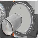 Допалювачі металеві для пальників : KG/UB150; KG/UB200 ZVP 180