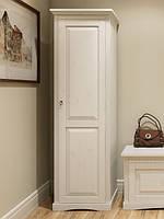 """Шкаф 1-но дверный """"Неаполь"""" белый воск domini"""