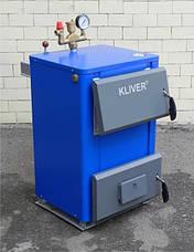 Твердотопливный котел Кливер 14, фото 2