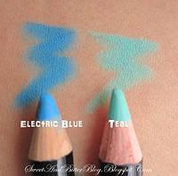Голубой Карандаш для глаз NYX Slim Eye Pencil Electric blue