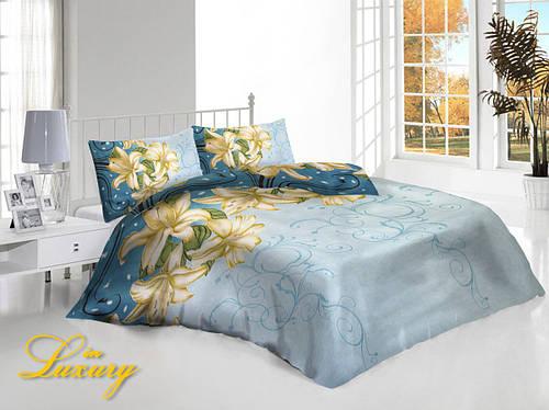 Постельное белья «Лилии», двуспальный комплект