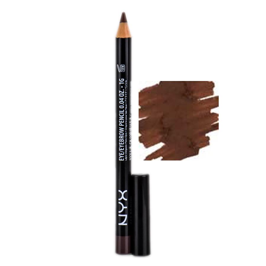 Карандаш для глаз NYX Slim Eye Pencil Brown Коричневый