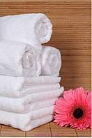 "Полотенце (30х50 см) махровое ""HOME QUALITY"" для рук, белое"
