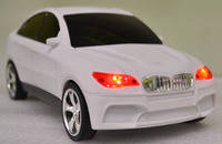 Аудио-колонка в виде автомобиля BMW X6
