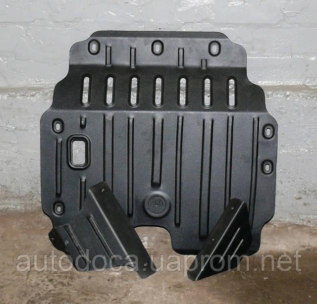 Защита картера двигателя и кпп Geely CK 2005-