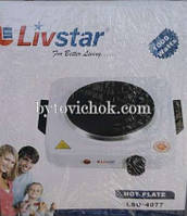 Плита электрическая переносная Livstar 1000 Вт