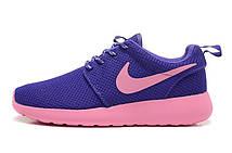 Кроссовки женские Nike Roshe Run Flyknit Turtle Black