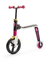 Самокат Scoot and Ride серии Highwayfreak 3.0 белый/розовый/желтый, 3-5 лет до 50кг, фото 1