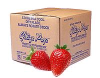 Добавка вкусовая сладкая Glaze Pop США  Клубника (ящик)