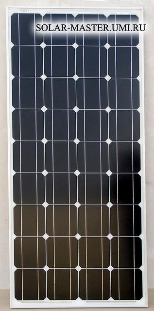 Солнечная  панель монокристаллическая 100 Вт
