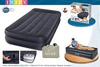 Надувная кровать Intex 66706 ИНТЕКС(99х191х42см) Pillow Rest…киев