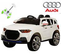 Электромобиль детский с мягкими колесами Audi M 2763 (MP4) EBR-1 белый