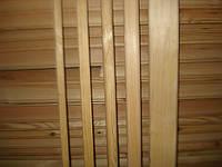 Наличник дверной сосновый 2-й сорт 30 мм.