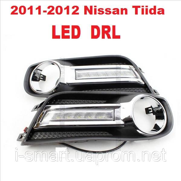 DRL дневный ходовый огни на 2011-2012 Nissan Tiida
