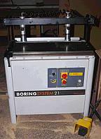 Сверлильно присадочный станок бу Maggi Boring System 21, 2006 год, фото 1