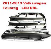 DRL дневный ходовый огни на 2011-2013 Volkswagen Touareg, фото 1